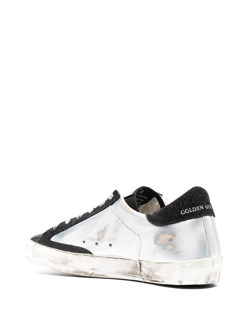 Picture of Golden Goose Deluxe Brand   Panelled Superstar Sneakers