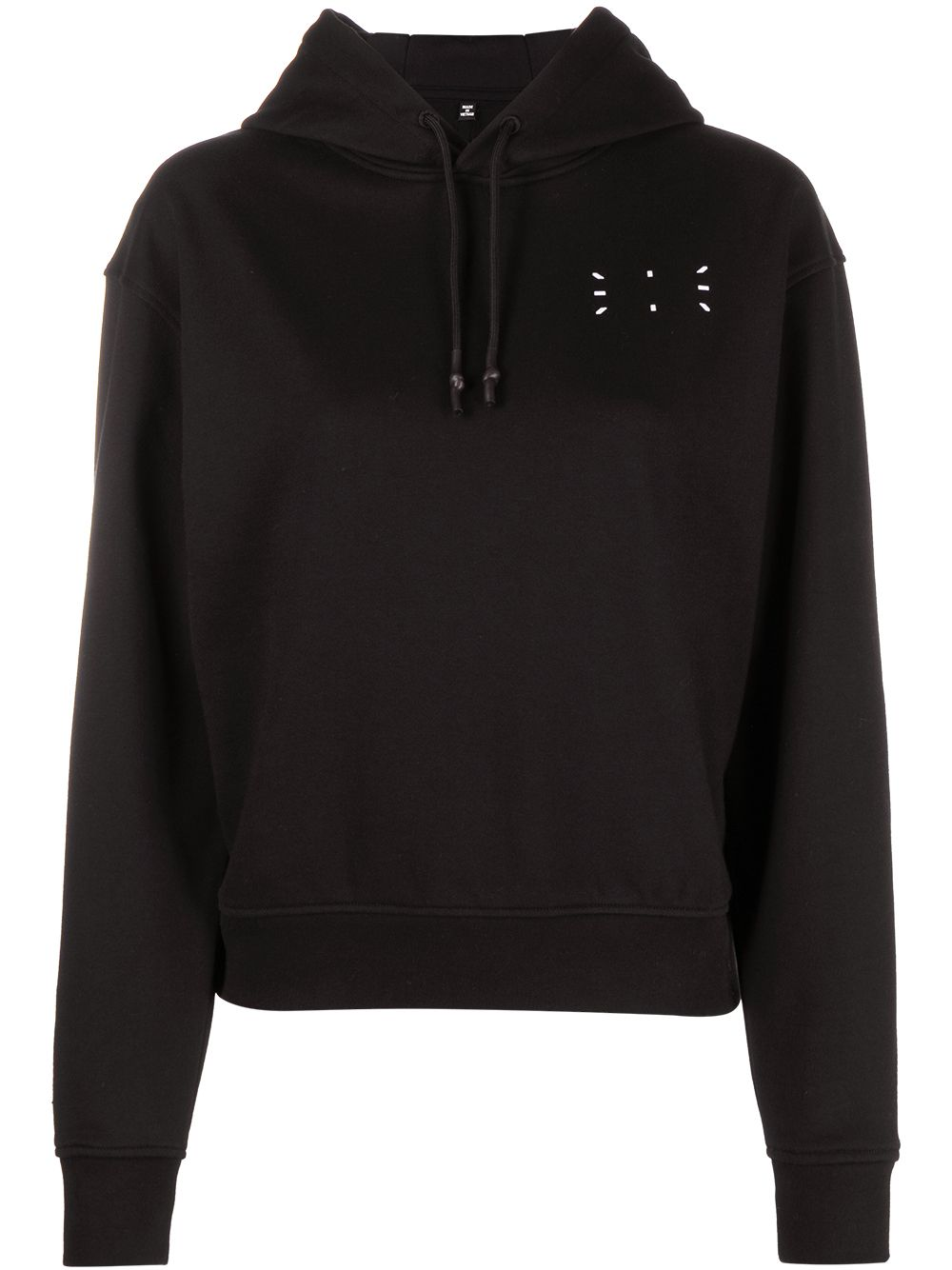 Picture of Mcq | Embroidered Logo Hooded Sweatshirt