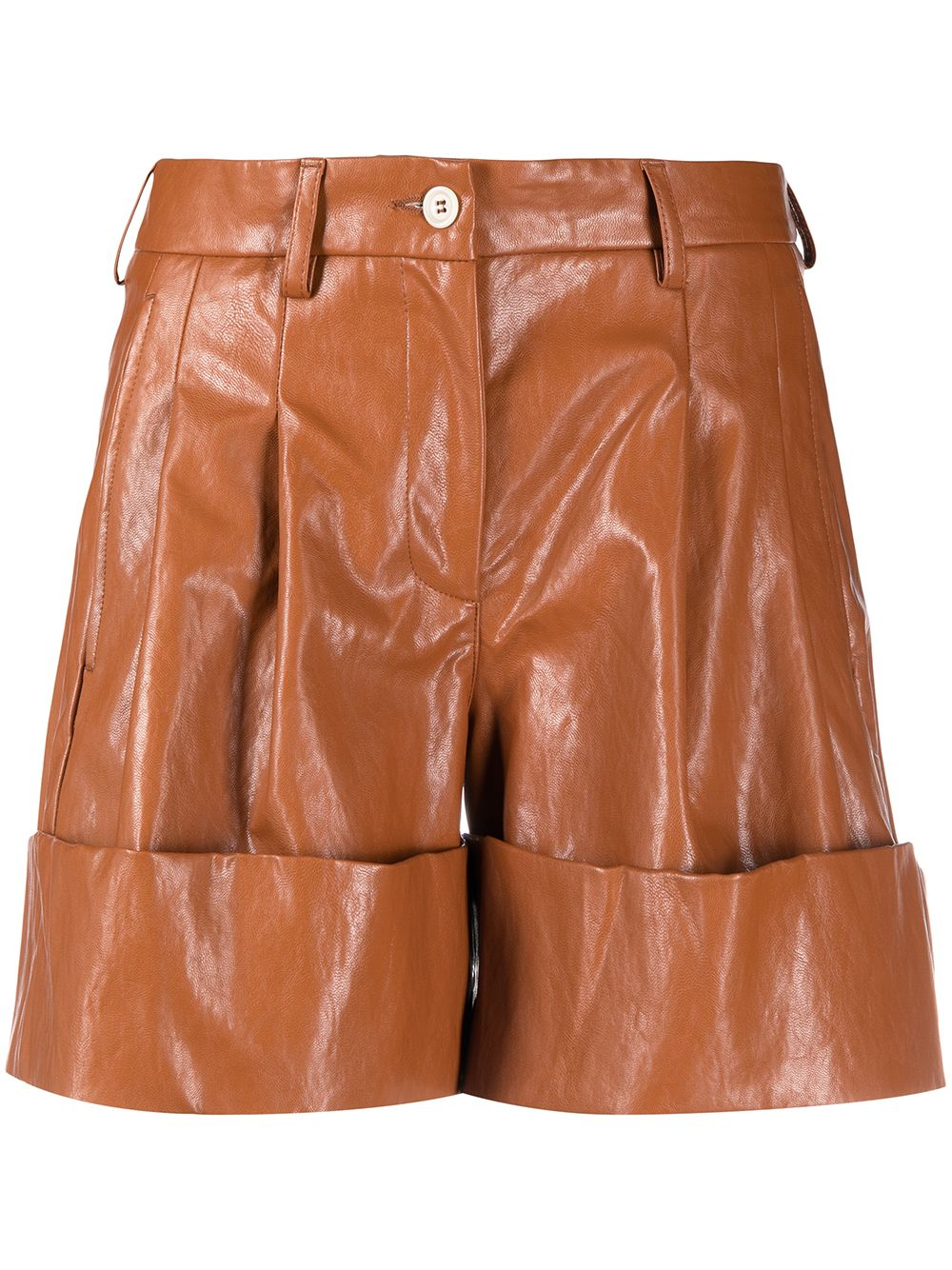 Picture of Jejia   Turned-Up Hem Shorts £272