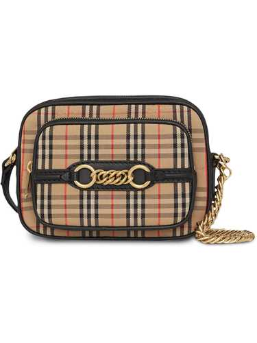 Picture of Burberry | 1983 Check Shoulder Bag
