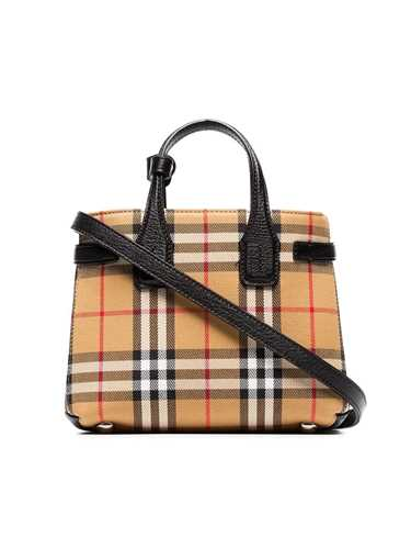 Picture of Burberry | Baby Banner Vintage Check Tote