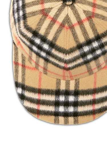 Picture of Burberry | Wool Baseball Cap