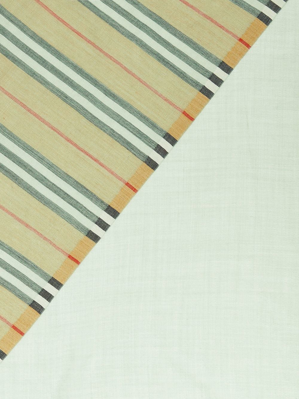 Picture of Burberry | Vintage Check Colour Block Wool Silk Scarf