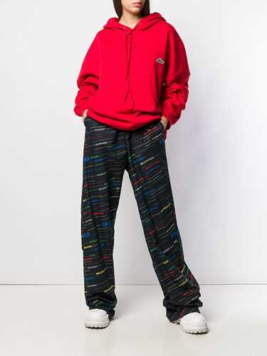 Picture of Balenciaga | Oversized Leg Trousers