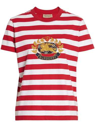 Picture of Burberry | Striped Cotton T-Shirt