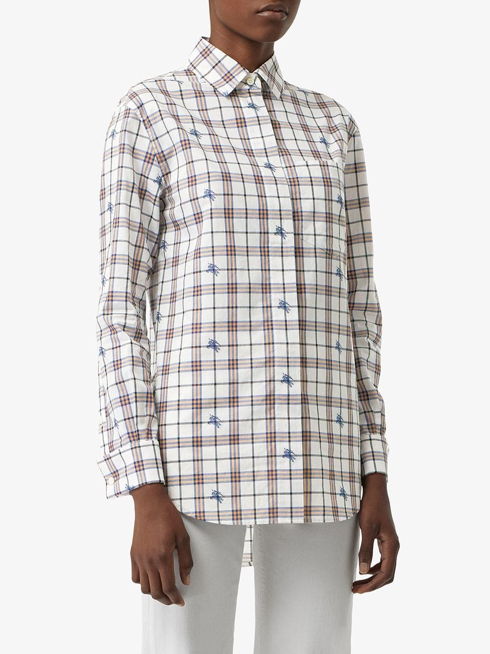 Picture of Burberry | Check Cotton Shirt
