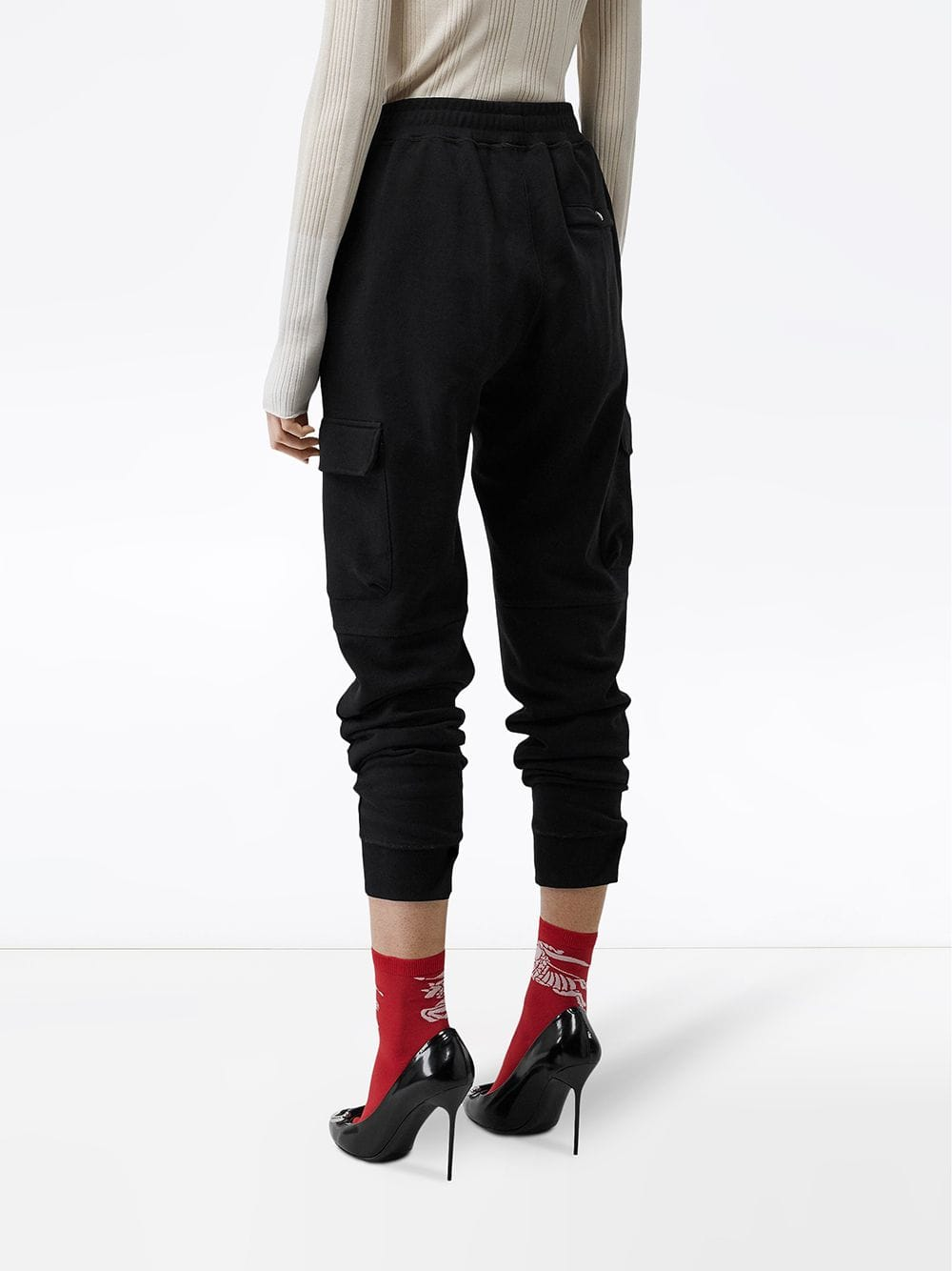 Picture of Burberry | Cotton Jersey Trackpants