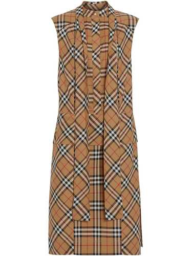 Picture of Burberry | Tie-Neck Dress