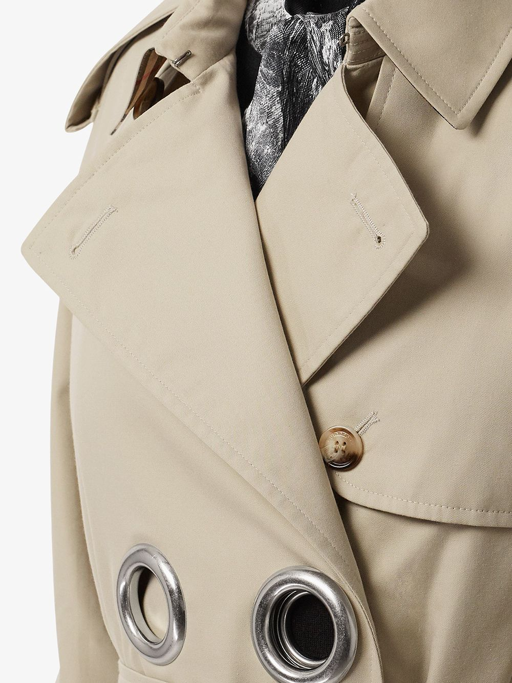 Picture of Burberry | Grommet Trench Coat