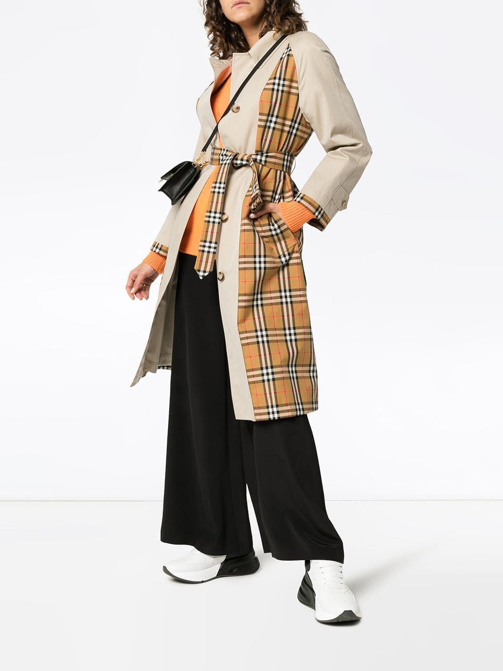 Picture of Burberry | Guisley Cotton Trench Coat