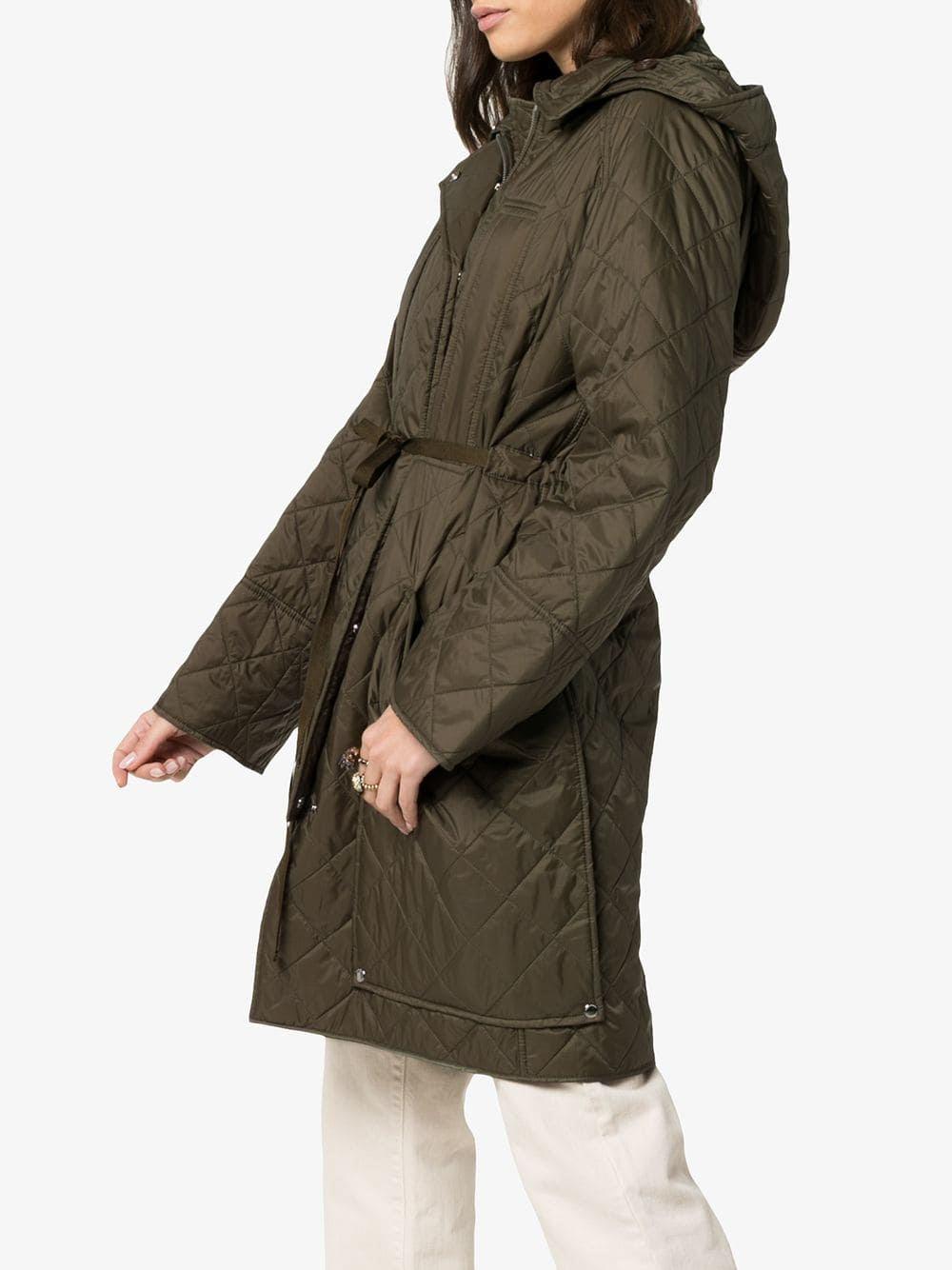 Picture of Burberry | Hooded Oversized Coat