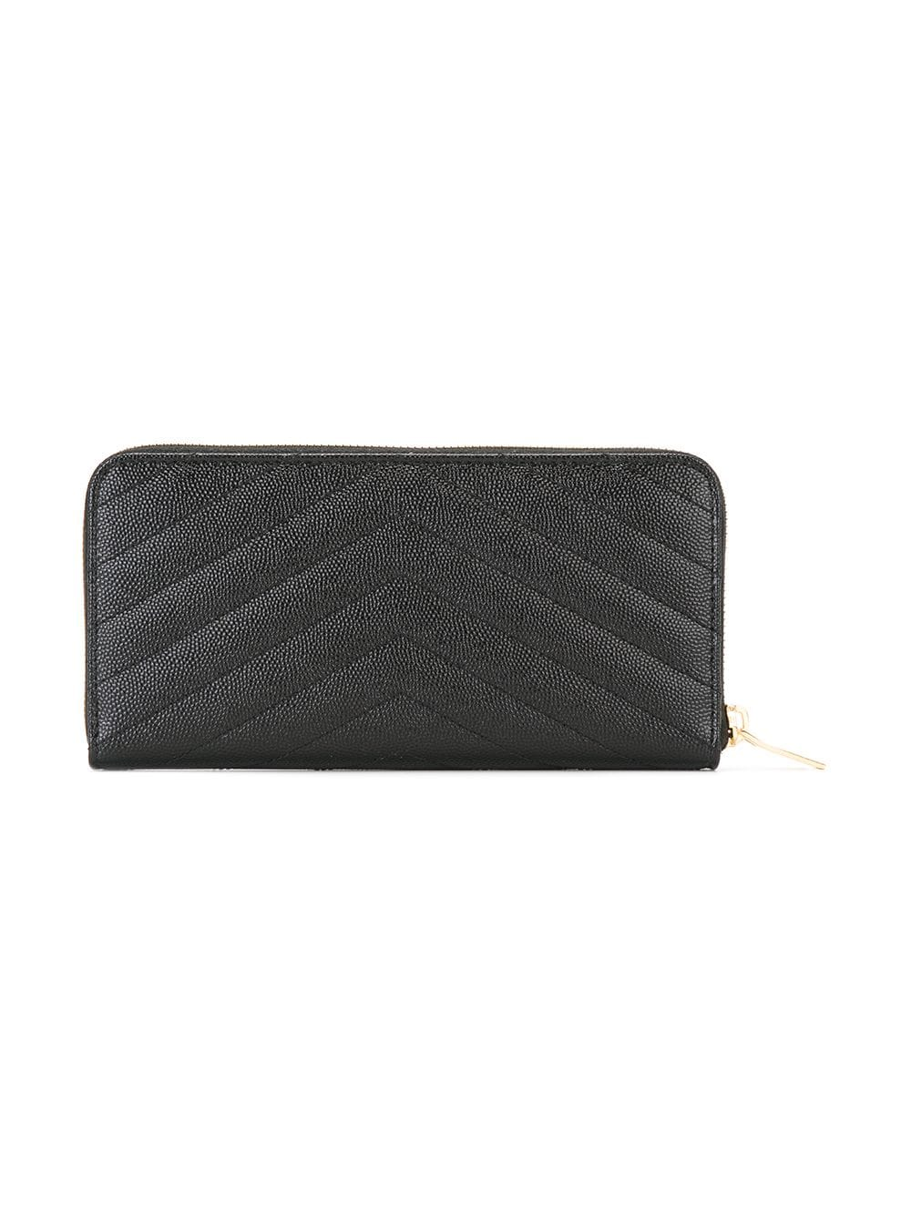 Picture of Saint Laurent | Monogram Zip Around Wallet