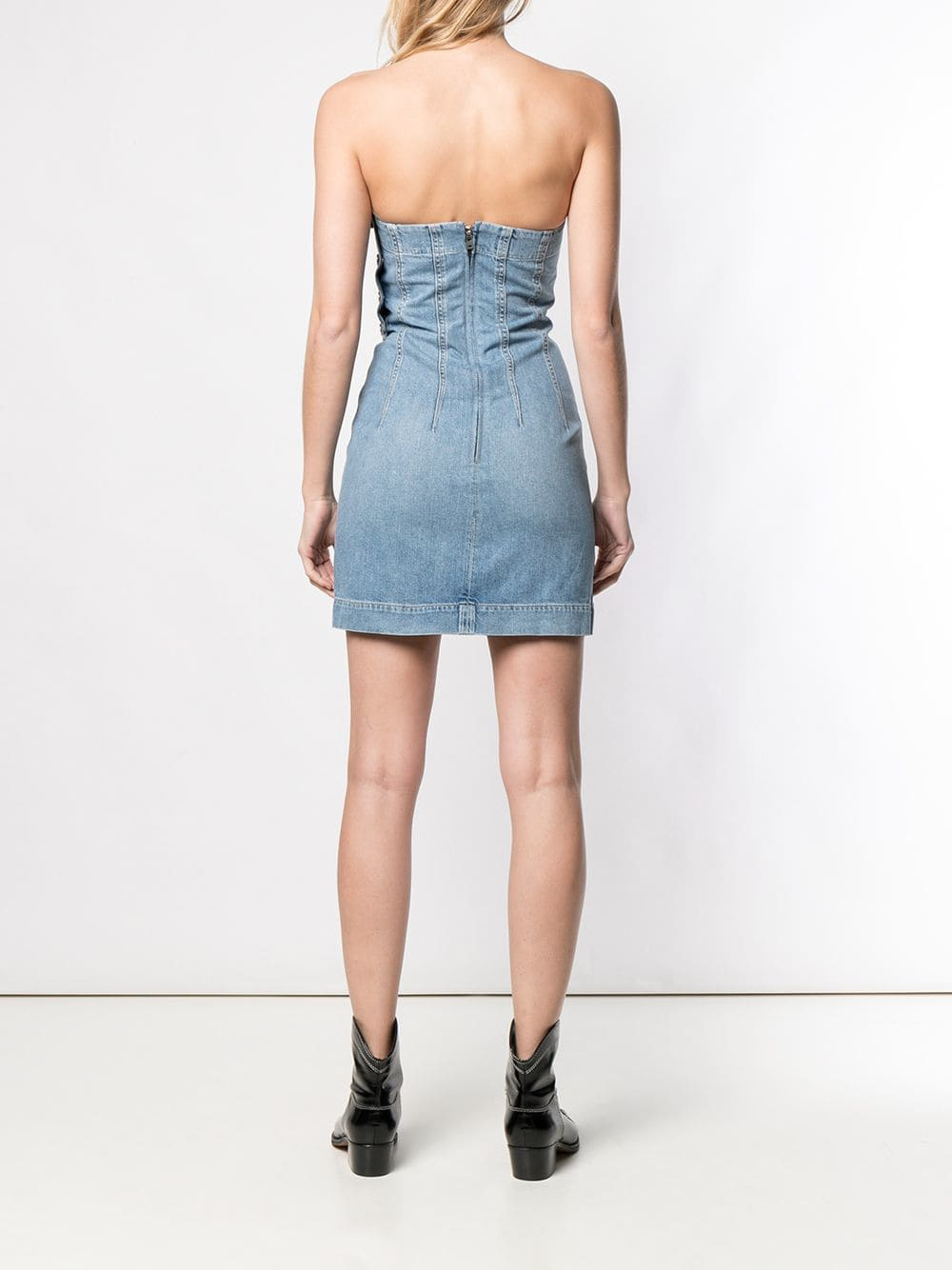 Picture of Jean Atelier | Fitted Denim Dress