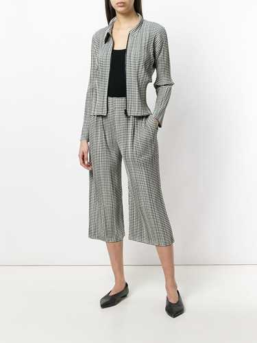 Picture of Issey Miyake Pleats Please | Giacca A Quadri Con Zip