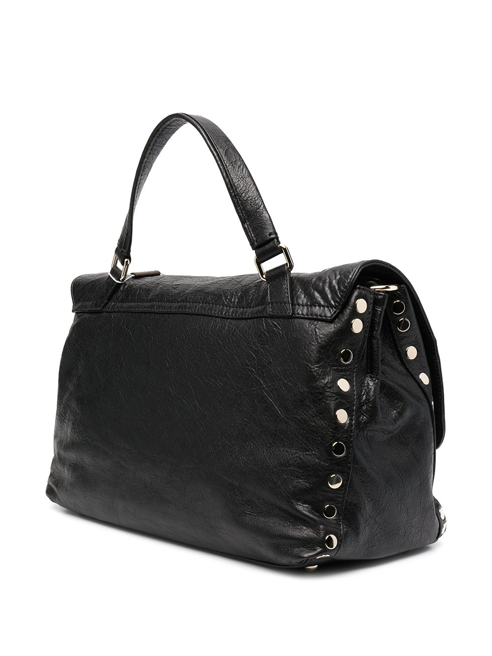 Picture of Zanellato | Crinkled Lambskin Tote Bag