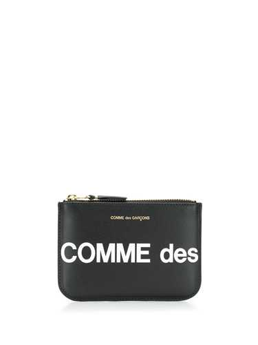 Picture of Cdg Wallet | Logo Print Zipped Pouch