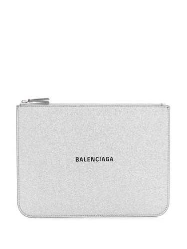 Picture of Balenciaga | Glitter Everyday Logo Pouch