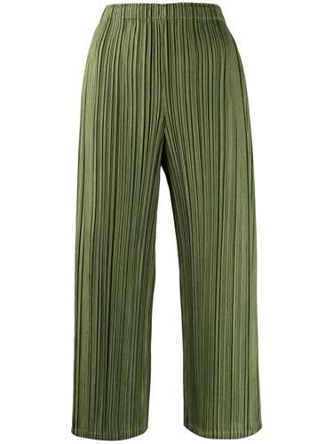 Picture of Issey Miyake Pleats Please | Plissé Cropped Trousers