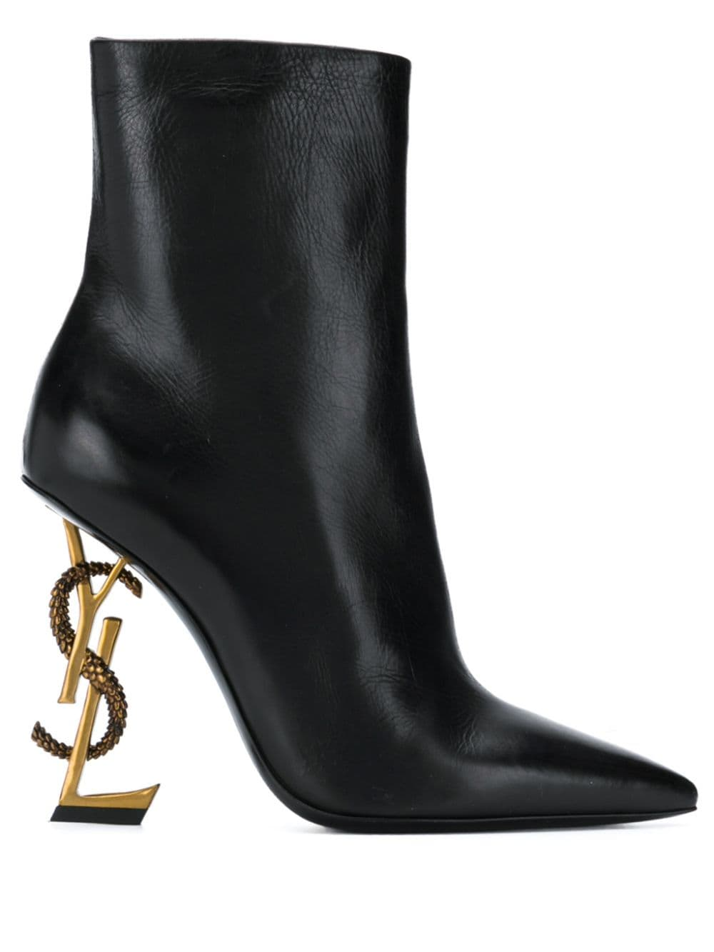Picture of Saint Laurent | Opyum 110 Ankle Boots