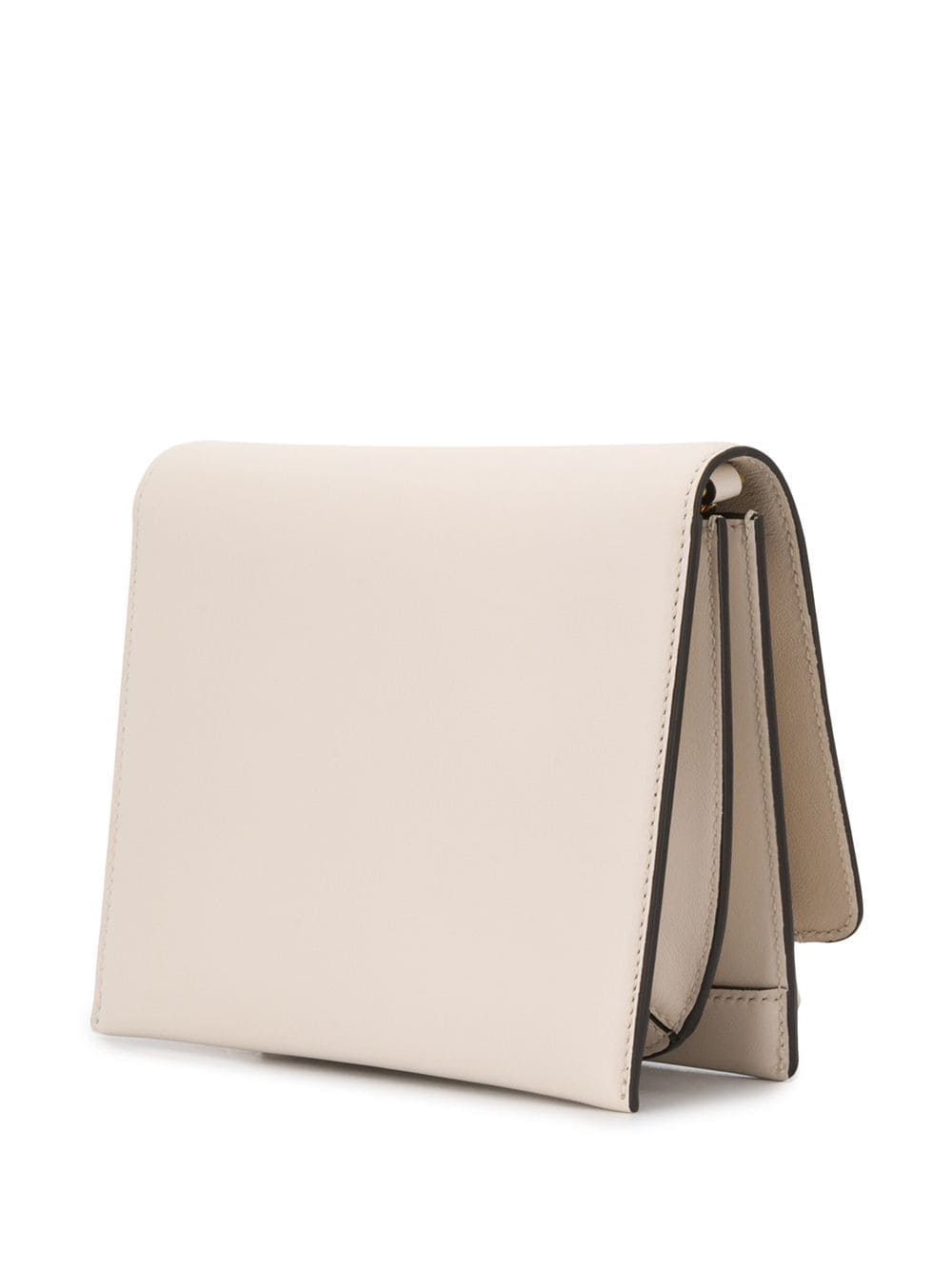 Picture of Salvatore Ferragamo | Logo Engraved Flap Shoulder Bag
