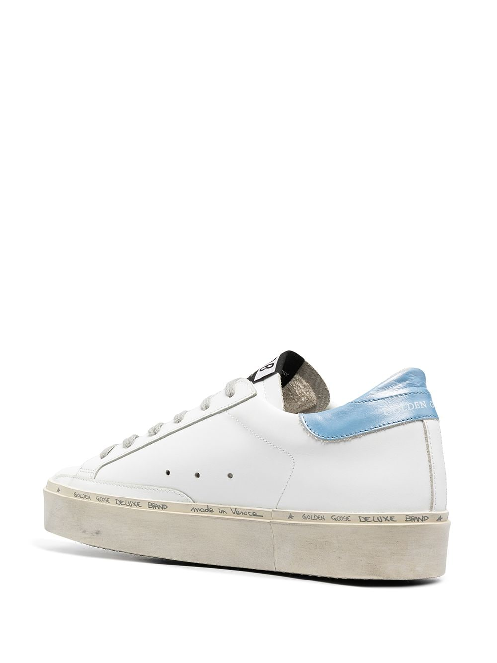 Picture of Golden Goose Deluxe Brand | Hi Star Platform Sneakers