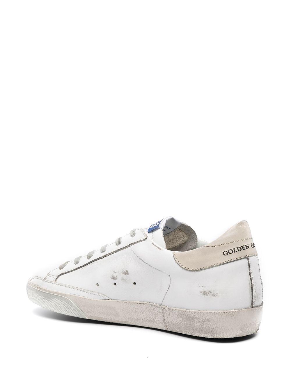 Picture of Golden Goose Deluxe Brand   Super-Star Flag-Motif Low-Top Sneakers