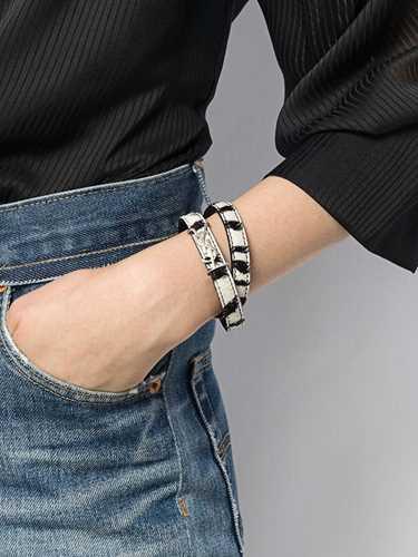 Picture of Saint Laurent | Opyum Double Wrap Bracelet