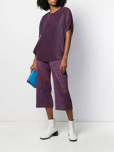 Picture of Issey Miyake Pleats Please | Dotted Culottes
