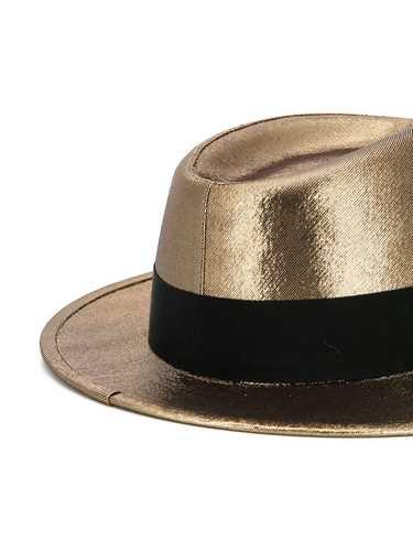 Picture of Saint Laurent | Metallic Trilby Hat