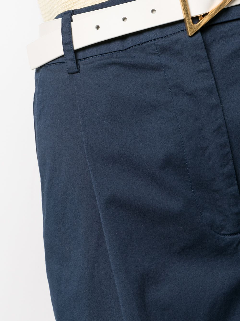 Picture of Semicouture | Wide Bermuda Shorts