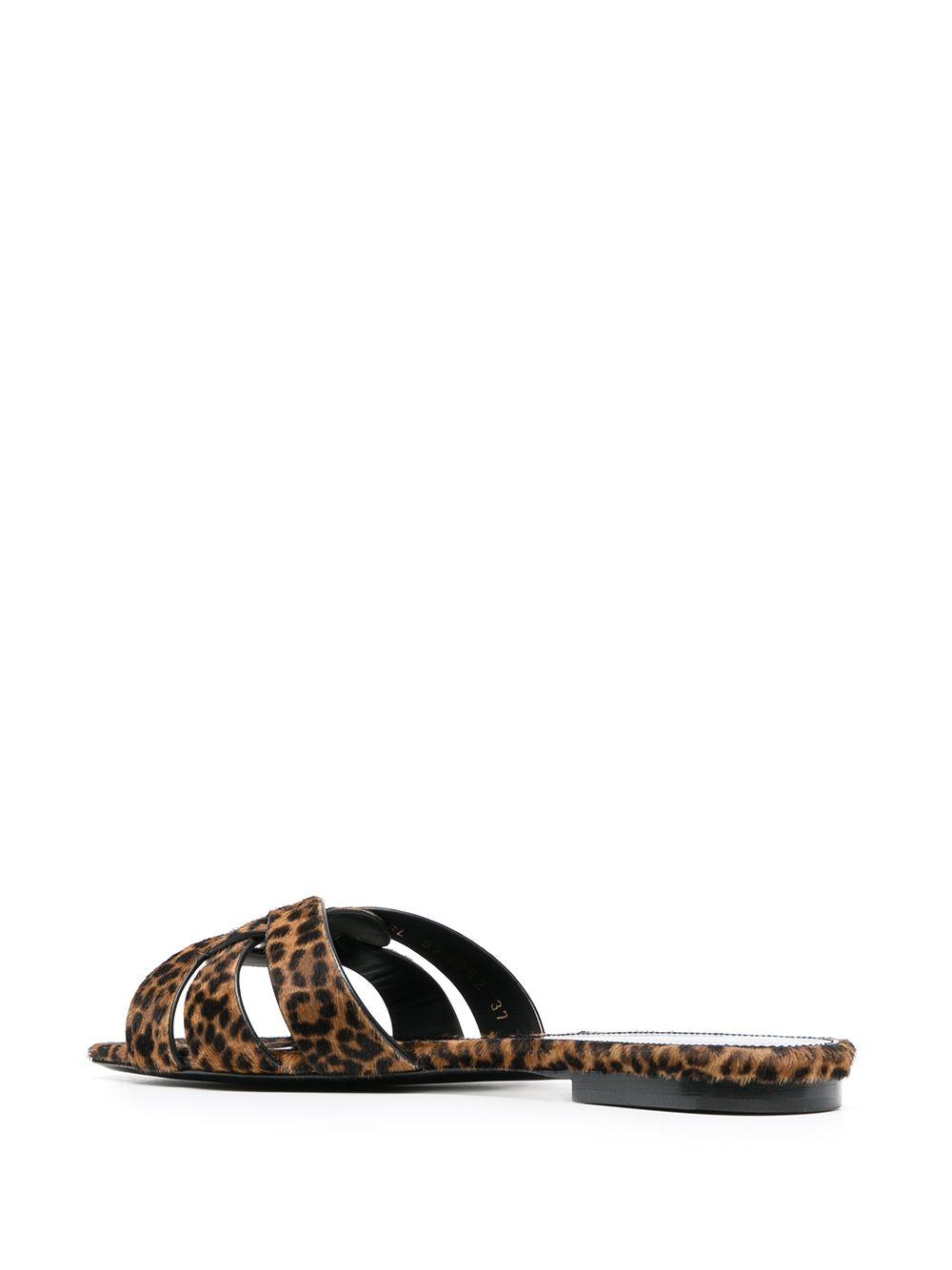 Picture of Saint Laurent   Tribute Flat Sandals