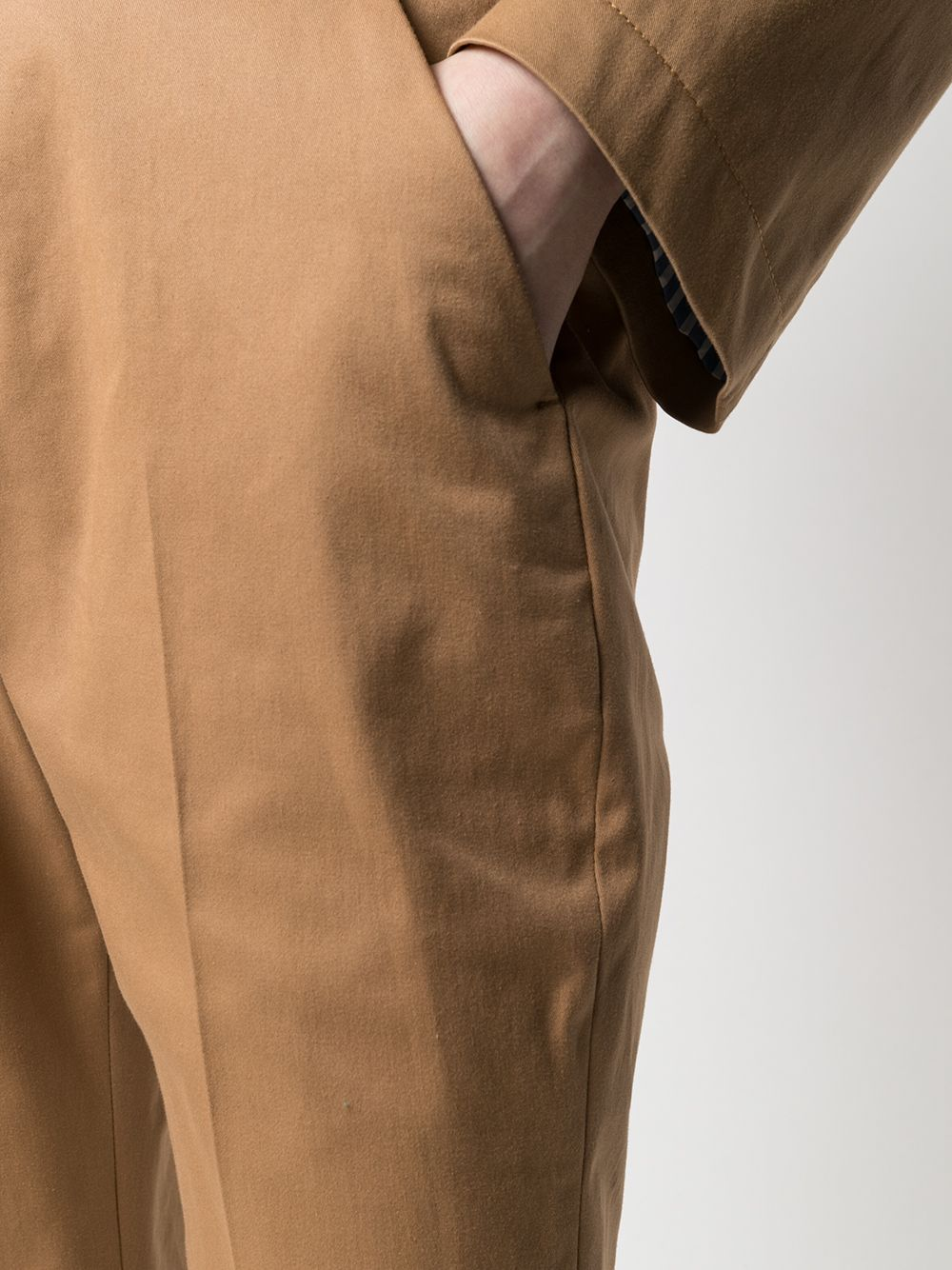 Picture of Aspesi   Cropped Kick-Flare Trousers
