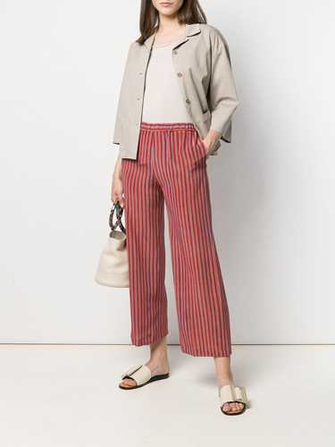 Picture of Aspesi   Striped Flare Trousers