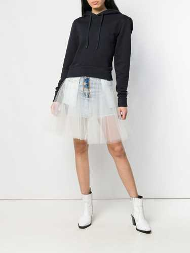 Picture of Unravel Project | Tulle Layered Denim Skirt
