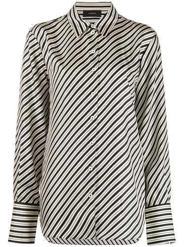 Picture of Joseph   Striped Silk Shirt