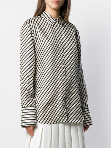 Picture of Joseph | Striped Silk Shirt