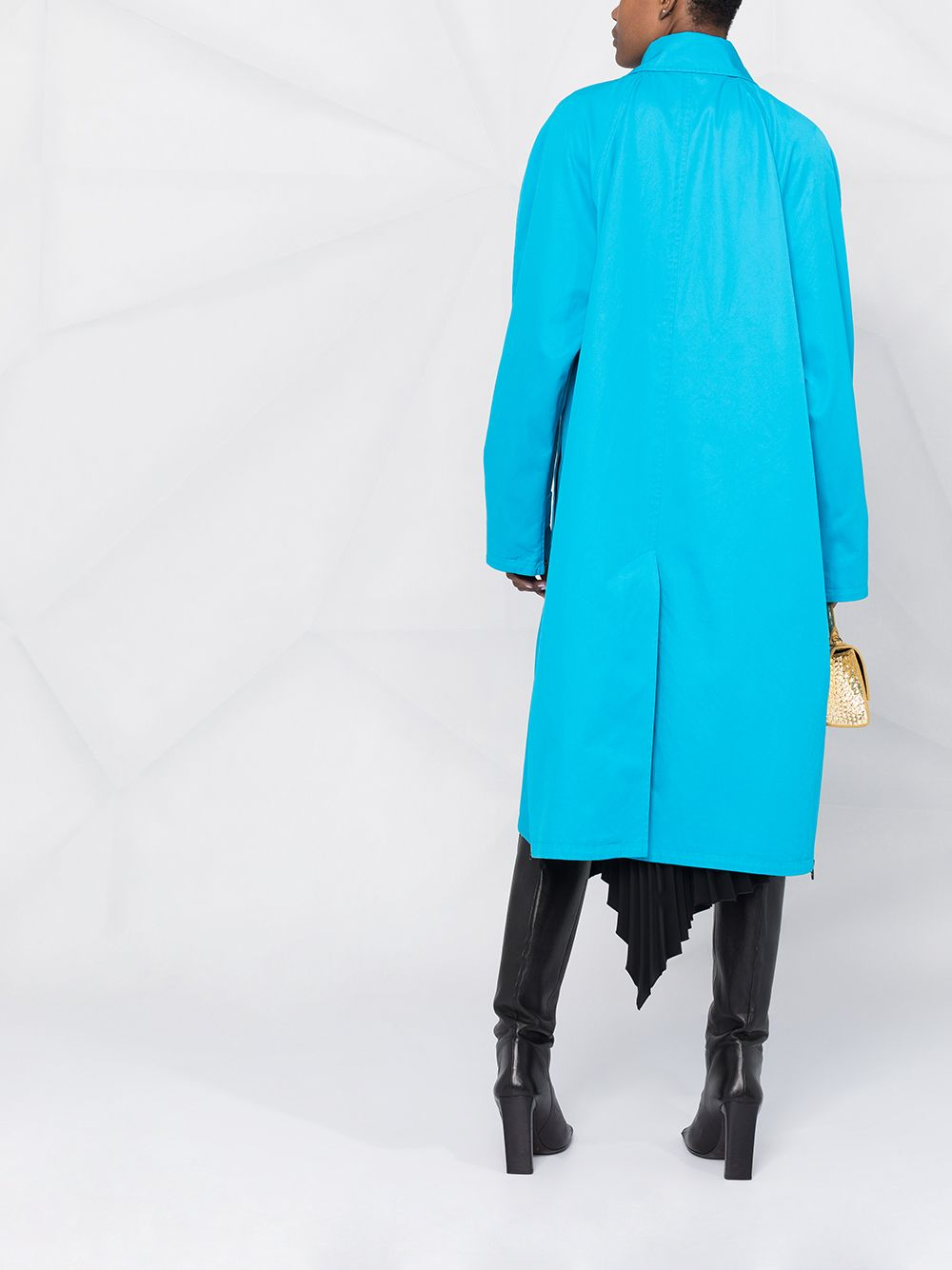 Picture of Balenciaga | Single-Breasted Car Coat