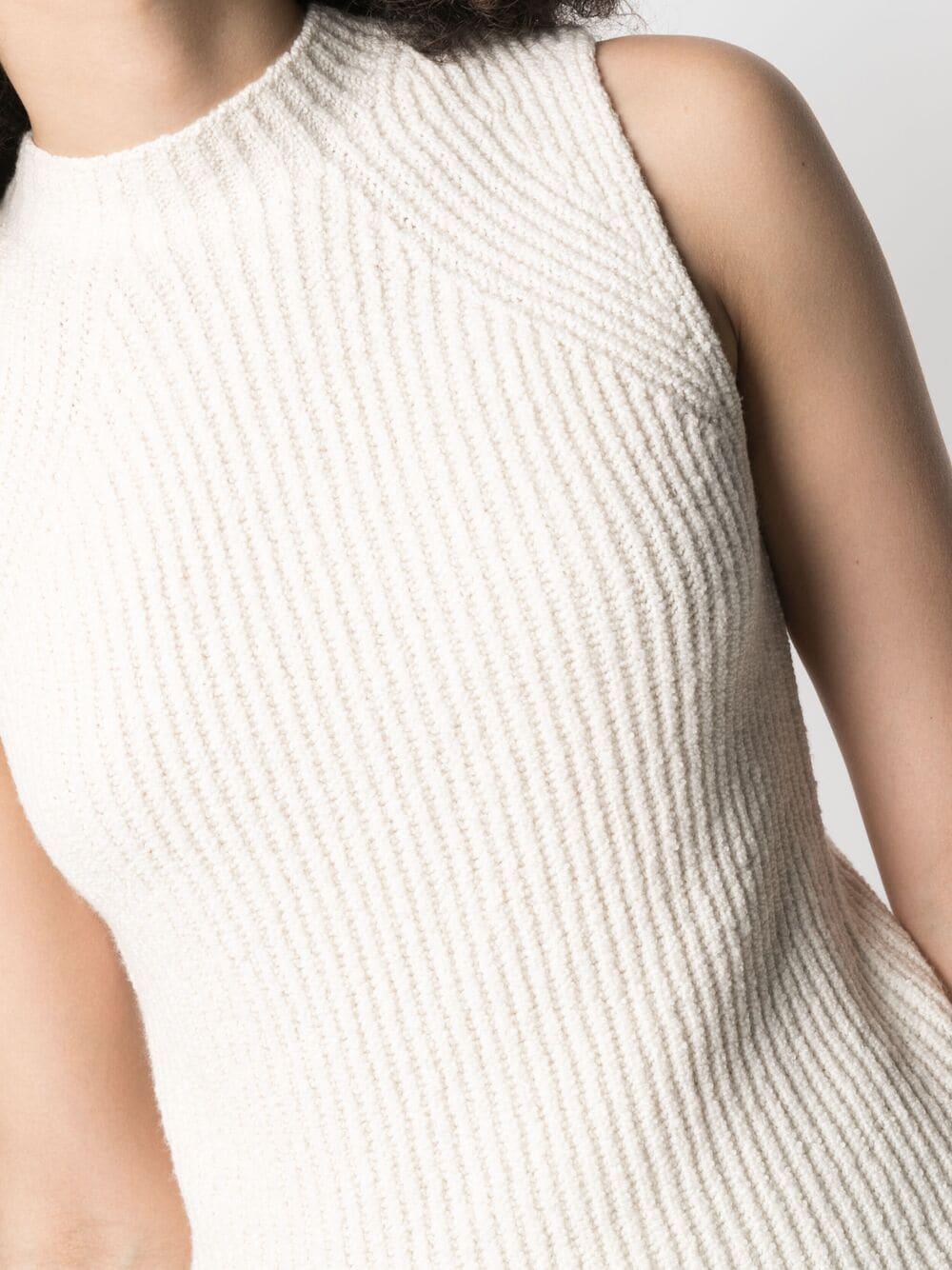 Picture of Vince | Ribbed-Knit Vest Top