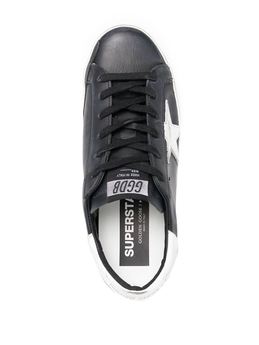 Picture of Golden Goose Deluxe Brand | Logo Patch Sneakers