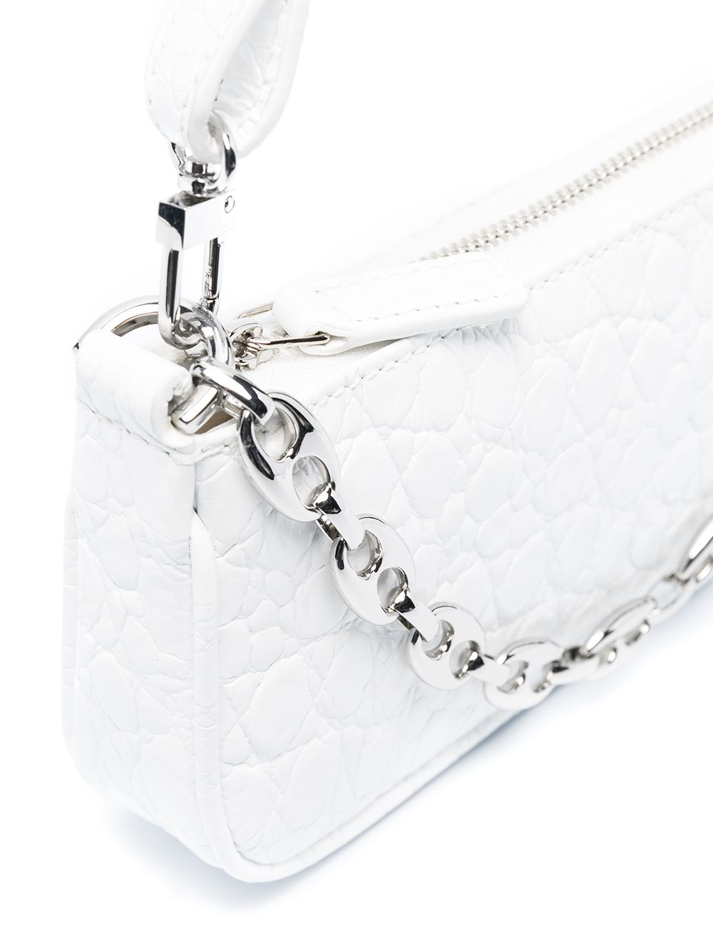 Picture of By Far | Rachel Crocodile-Embossed Mini Bag