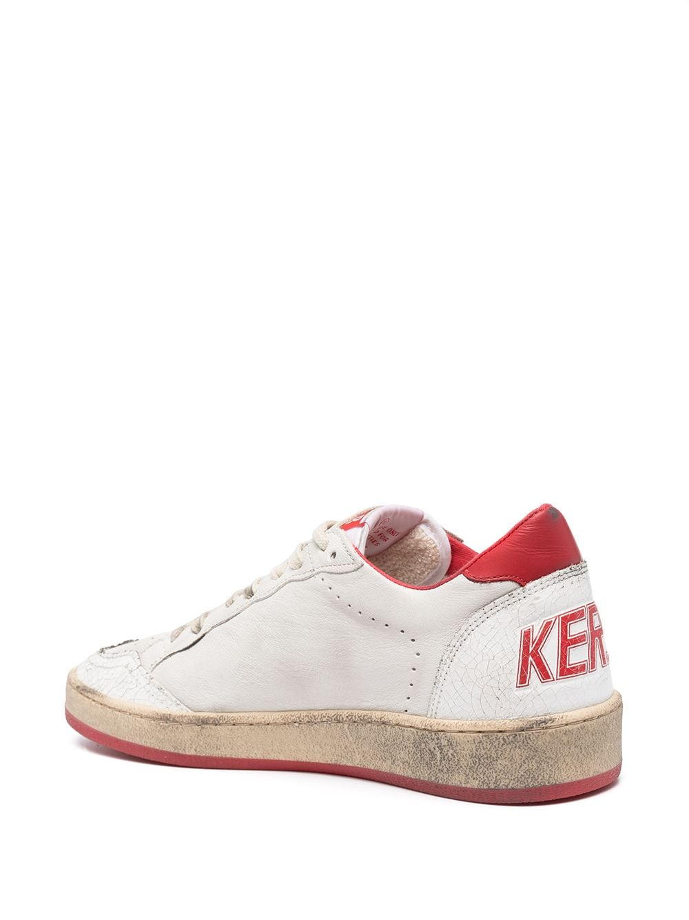 Picture of Golden Goose Deluxe Brand | Ball Star Leather Sneakers