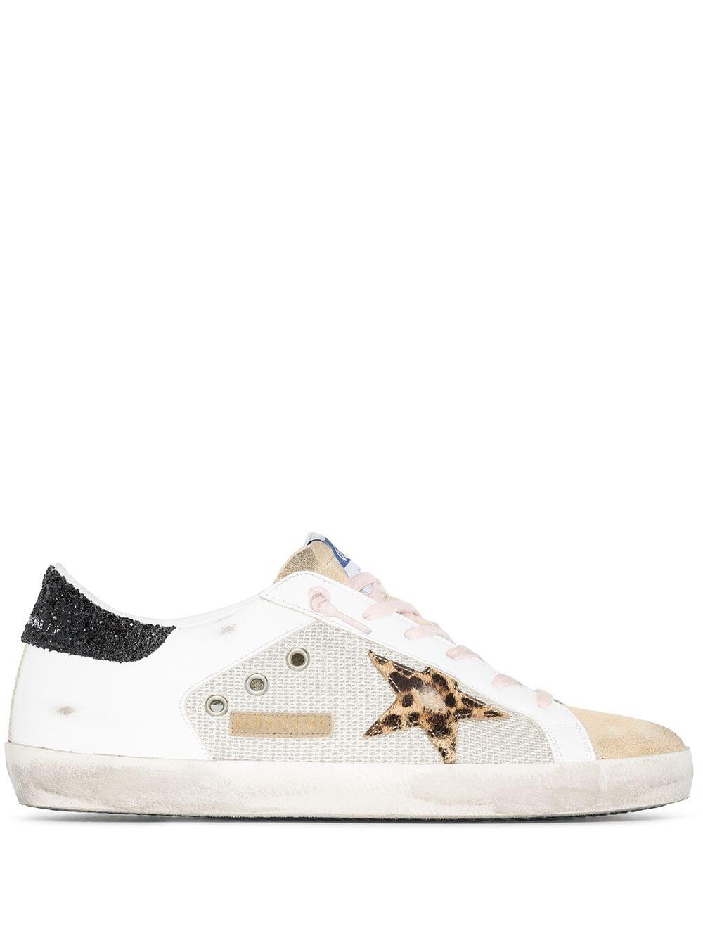 Picture of Golden Goose Deluxe Brand   Super-Star Low Top Sneakers