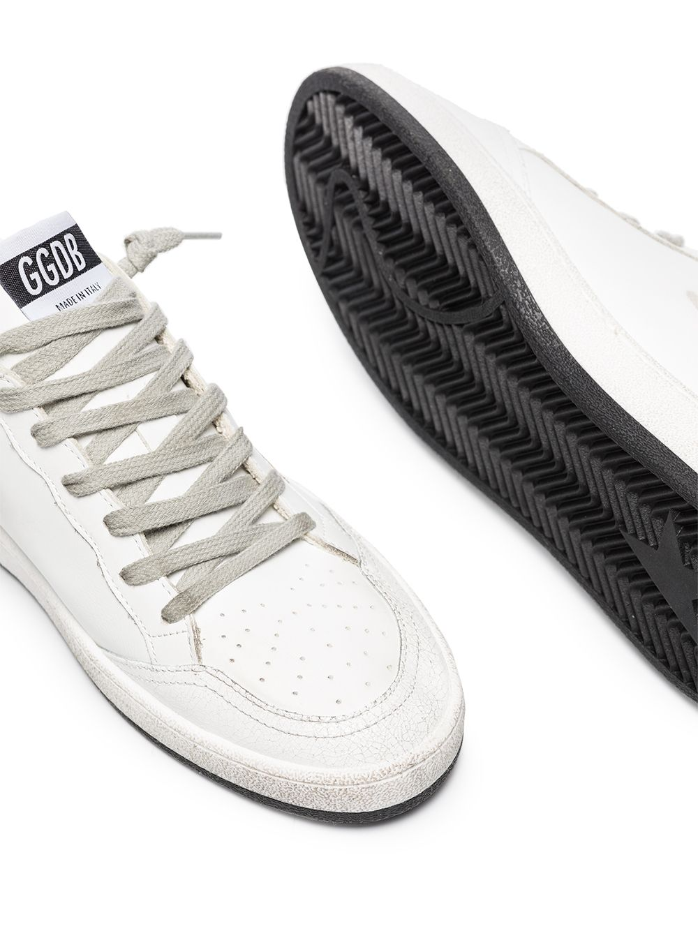 Picture of Golden Goose Deluxe Brand   Ballstar Low-Top Sneakers