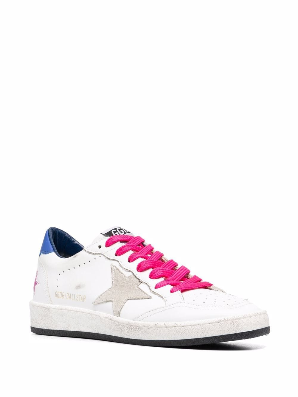 Picture of Golden Goose Deluxe Brand | Ballstar Lace-Up Sneakers