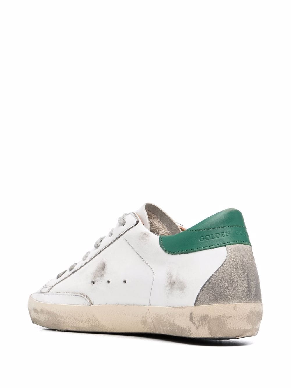 Picture of Golden Goose Deluxe Brand   Superstar Low-Top Distressed Sneakers