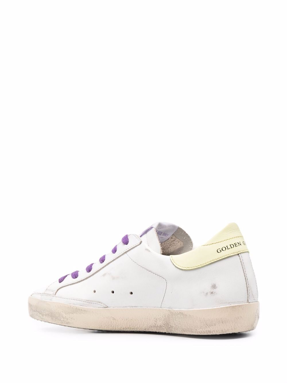 Picture of Golden Goose Deluxe Brand   Superstar Glitter-Embellished Sneakers
