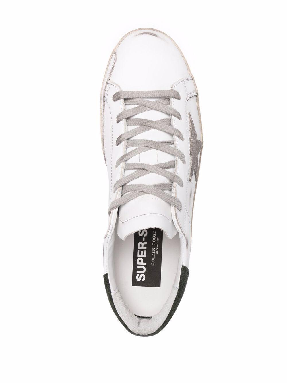 Picture of Golden Goose Deluxe Brand | Super-Star Low-Top Sneakers