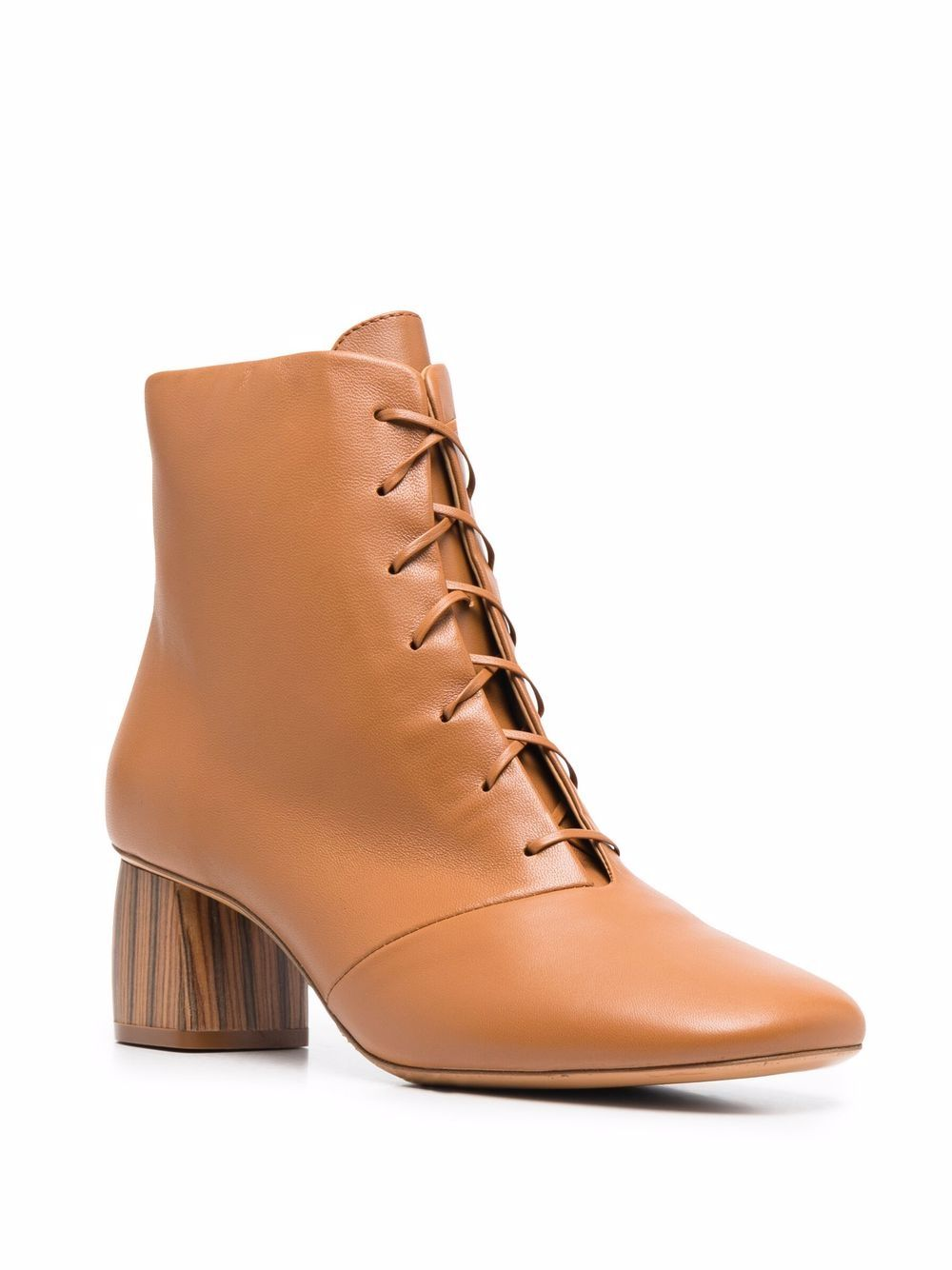 Picture of Forte_Forte | Leather Ankle Boots
