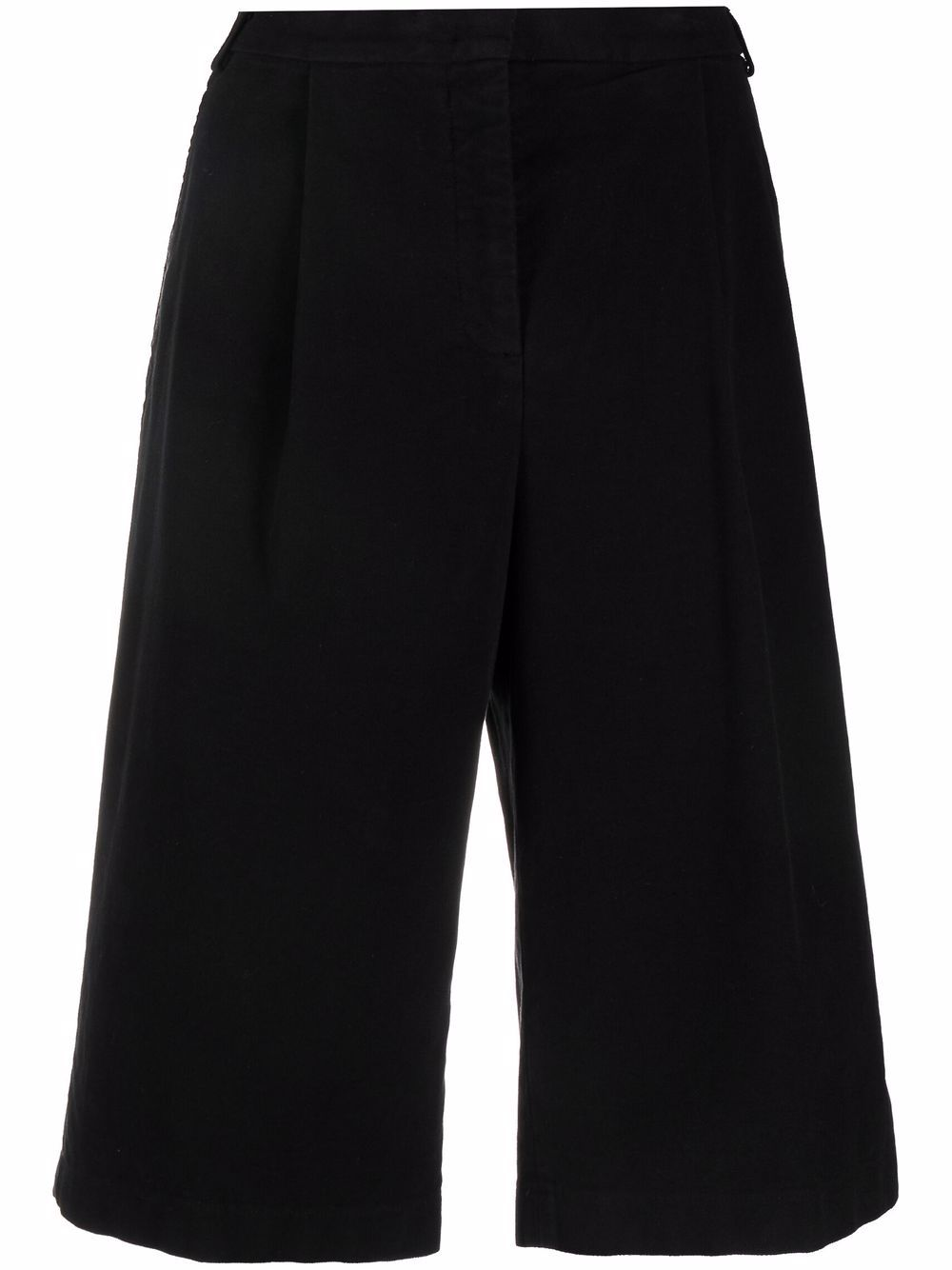 Picture of Aspesi   Wide-Leg Pleated Shorts