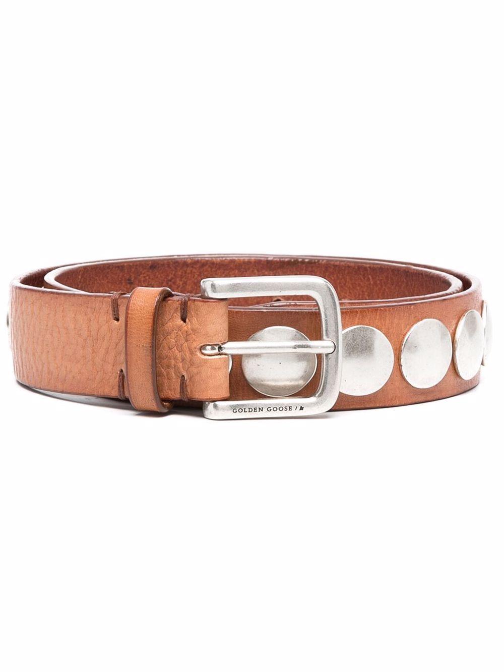 Picture of Golden Goose Deluxe Brand | Stud-Detail Belt